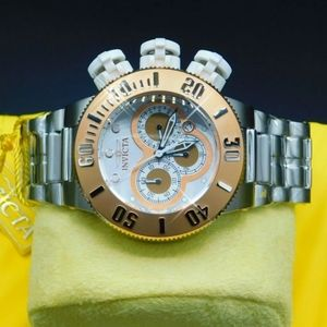 Brand New Invicta Sea Dragon Chronograph STAINLESS